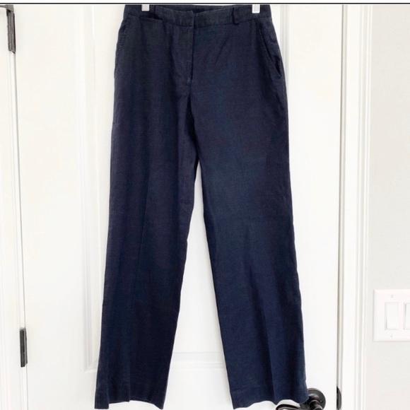 Lauren Ralph Lauren Pants - Lauren Ralph Lauren Petite Navy Linen Pants
